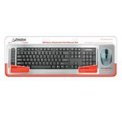 Nashua Slim Multimedia Keyboard +  Wireless Optical Mouse