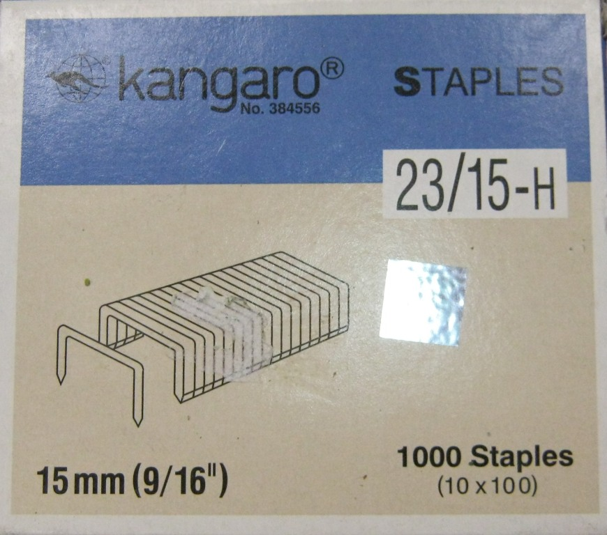 كباسات نوع Kangaro Staples قياس 23/15